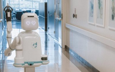 Robots join healthcare workers in the front-line battle against COVID-19