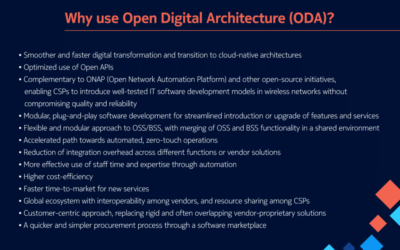 Freedom to innovate and create: How can Open Digital Architecture help CSPs?
